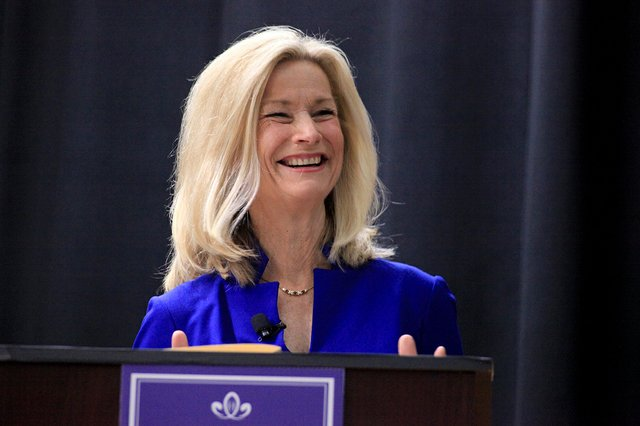 NBC-4's Julie Carey moderated the debate.