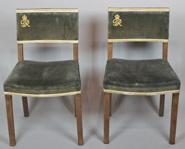 George VI Coronation Chairs