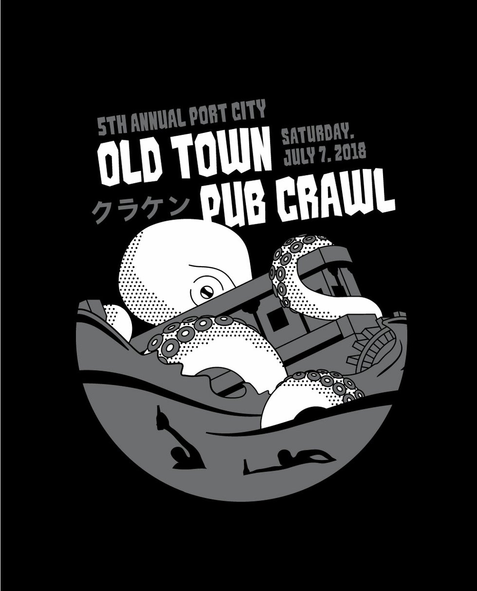Port City Brewing Company Old Town Pub Crawl