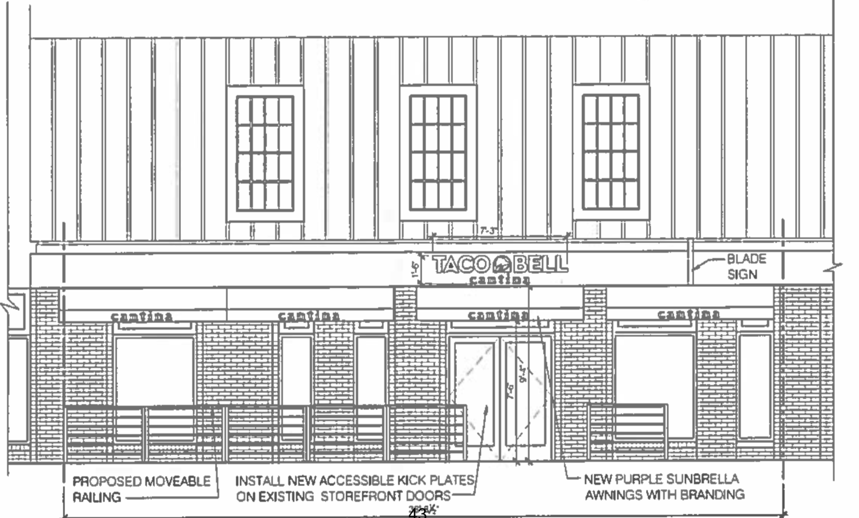 Plans Move Forward for Taco Bell Cantina on King Street - Alexandria ...
