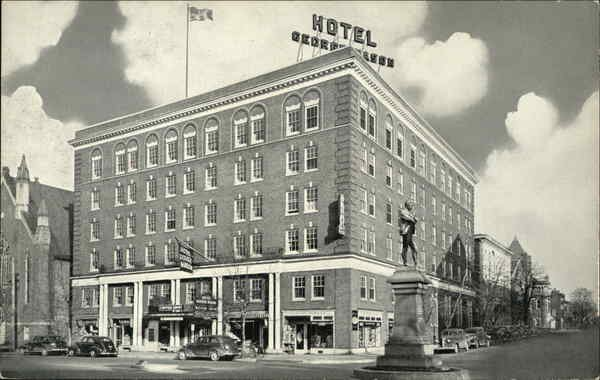 Historic photo of Hotel George Mason