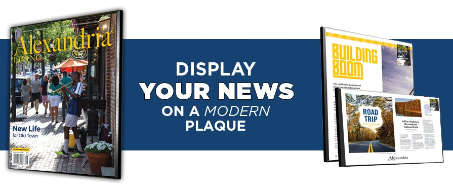 Order a News Plaque/Keepsake