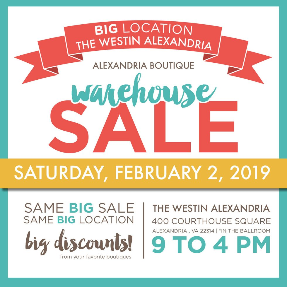 Alexandria Warehouse Sale celebrates 15 years