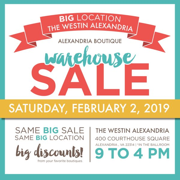 Alexandria Warehouse Sale celebrates 15 years