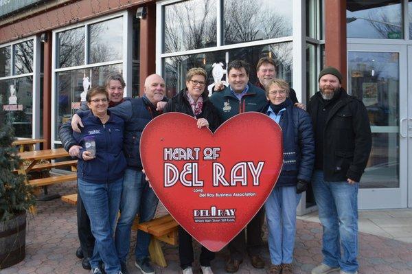 Heart of Del Ray 2018 winners Pork Barrel BBQ/Holy Cow/Sushi Bar
