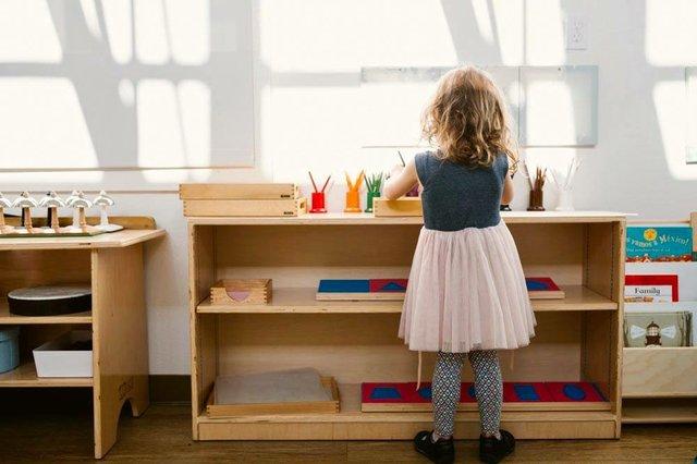 Montessori photo courtesy of Guidepost Montessori