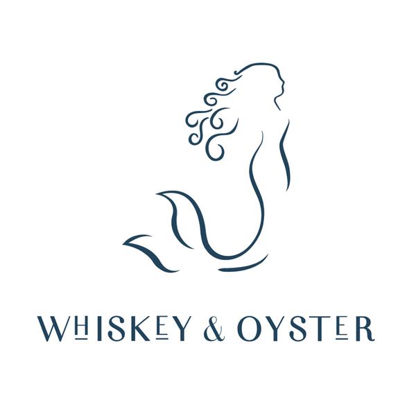 Whiskey & Oyster mermaid logo