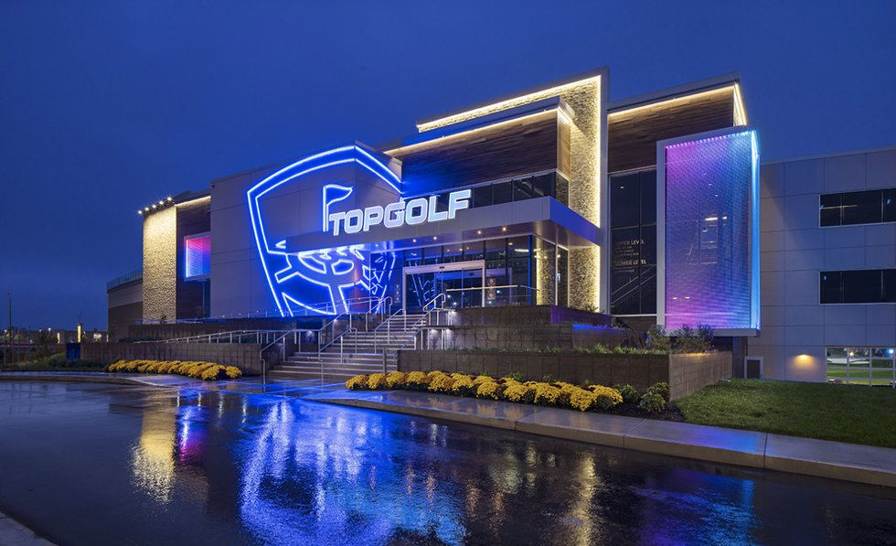 Topgolf National Harbor grand opening set.