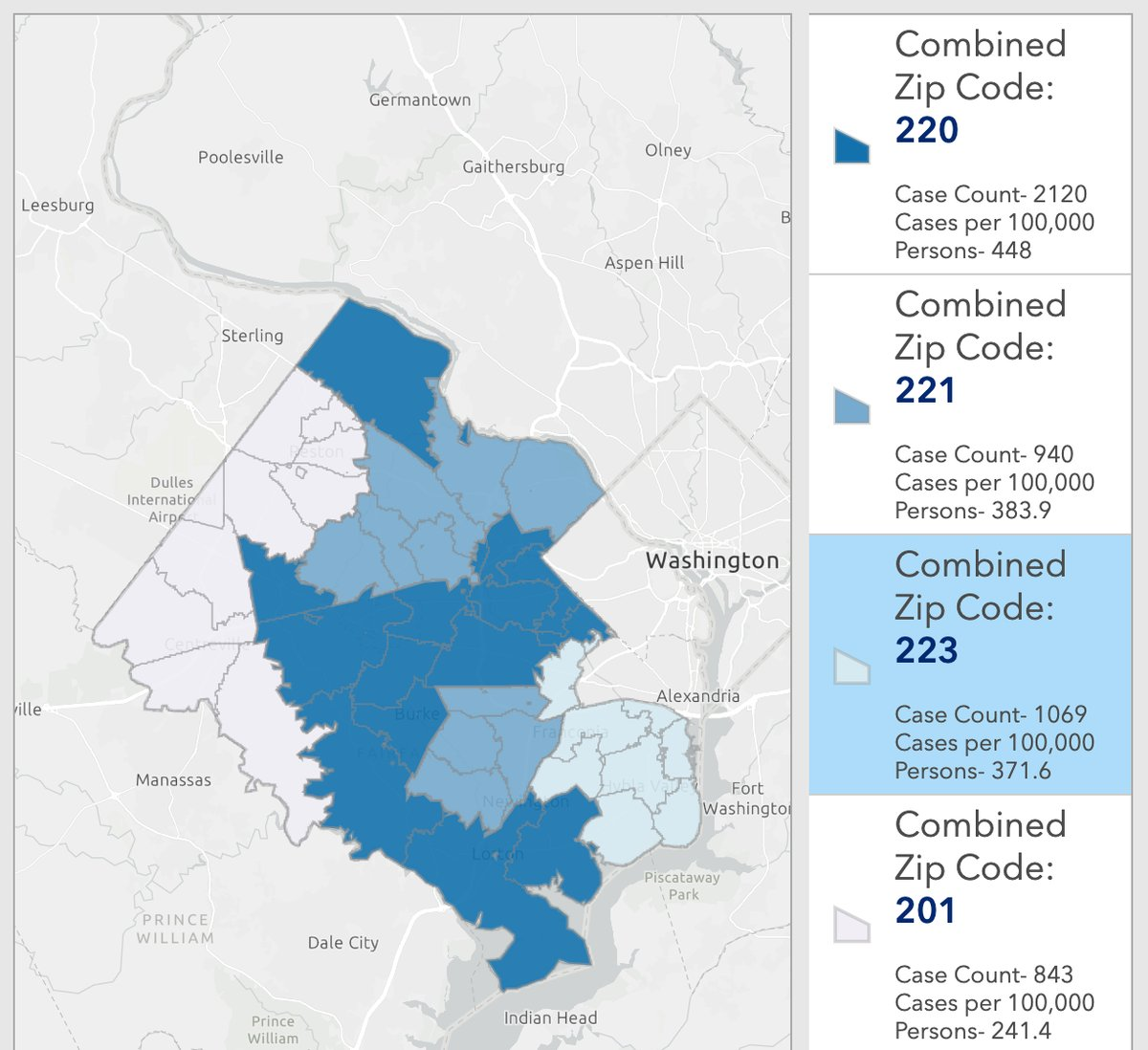 Virginia Dept Of Health Provides Covid 19 Cases By Zip Code
