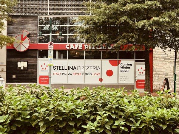 Stellini Pizzeria in Shirlington