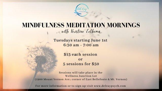 Meditation Mornings (FB)
