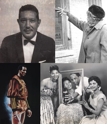 Ferdinand T. Day, Annie B. Rose, Ben Holt and Moss H. Kendrix. Courtesy of the Alexandria Black History Museum..jpg