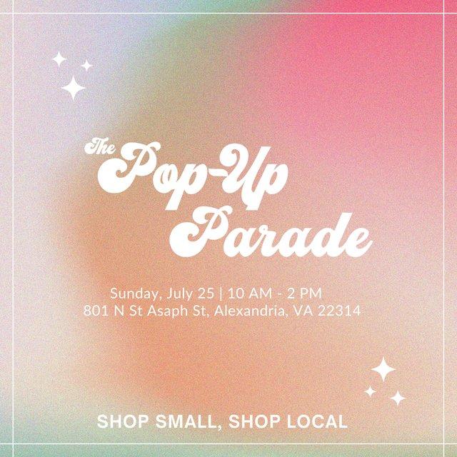 Pop Up Parade Square Flyer