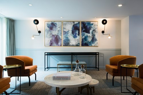 Captivating Living Room At Lorien Hotel + Spa